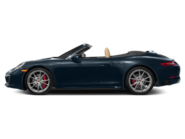 Night Blue Metallic 2018 Porsche 911 Pictures 911 Cabriolet 2D 4S AWD H6 Turbo photos side view