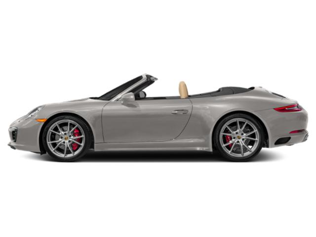 Agate Grey Metallic 2018 Porsche 911 Pictures 911 Cabriolet 2D 4S AWD H6 Turbo photos side view