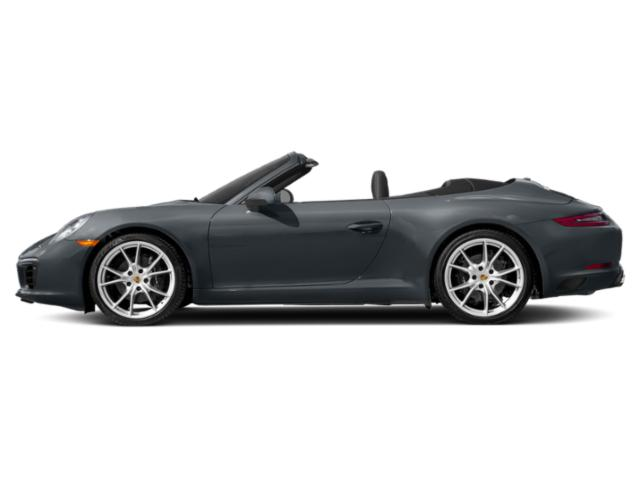 Graphite Blue Metallic 2018 Porsche 911 Pictures 911 Carrera Cabriolet photos side view