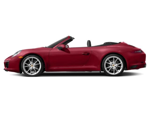 Carmine Red 2018 Porsche 911 Pictures 911 Carrera Cabriolet photos side view