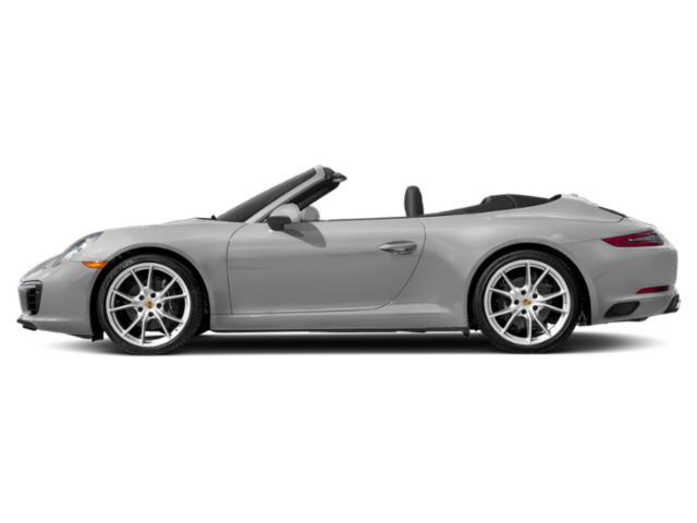 GT Silver Metallic 2018 Porsche 911 Pictures 911 Carrera Cabriolet photos side view