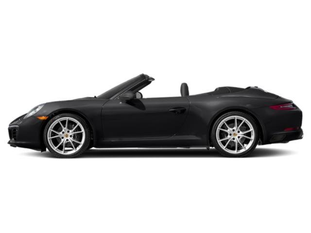 Black 2018 Porsche 911 Pictures 911 Carrera Cabriolet photos side view