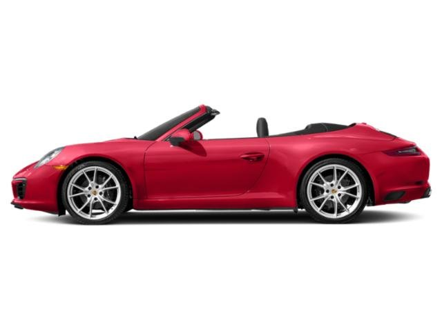 Guards Red 2018 Porsche 911 Pictures 911 Carrera Cabriolet photos side view