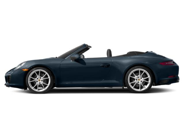 Night Blue Metallic 2018 Porsche 911 Pictures 911 Carrera Cabriolet photos side view