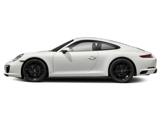 White 2018 Porsche 911 Pictures 911 Carrera Coupe photos side view