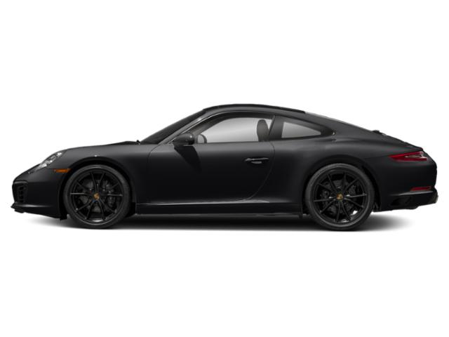 Black 2018 Porsche 911 Pictures 911 Carrera Coupe photos side view