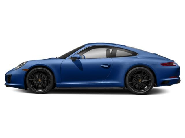 Sapphire Blue Metallic 2018 Porsche 911 Pictures 911 Carrera Coupe photos side view