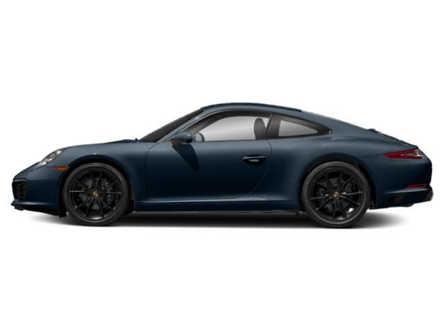 Night Blue Metallic 2018 Porsche 911 Pictures 911 Carrera Coupe photos side view