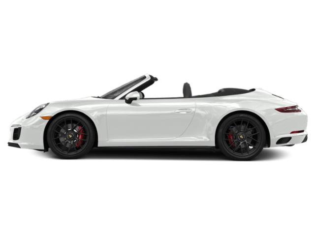 White 2018 Porsche 911 Pictures 911 Carrera GTS Cabriolet photos side view