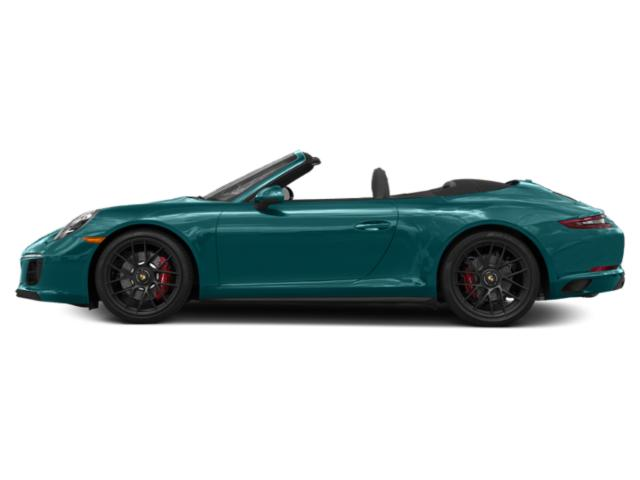 Miami Blue 2018 Porsche 911 Pictures 911 Carrera GTS Cabriolet photos side view