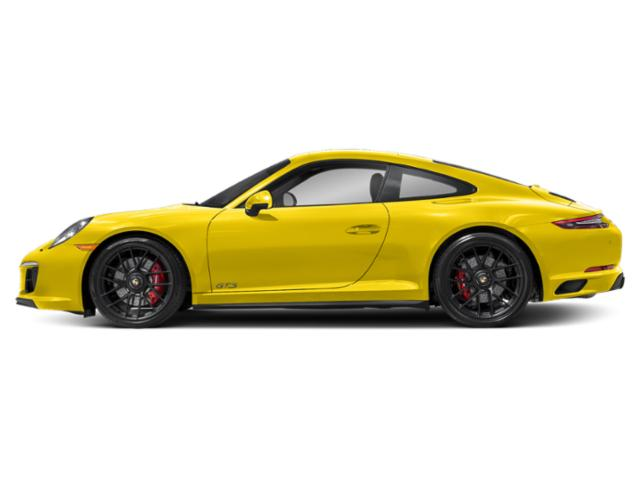 Racing Yellow 2018 Porsche 911 Pictures 911 Coupe 2D GTS H6 photos side view