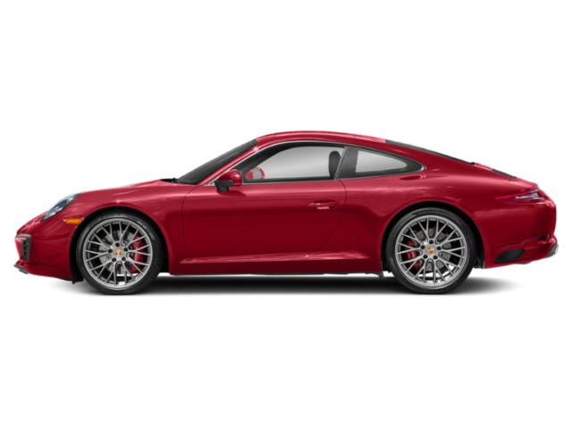 Carmine Red 2018 Porsche 911 Pictures 911 Coupe 2D S H6 Turbo photos side view