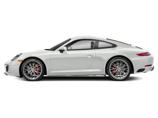 White 2018 Porsche 911 Pictures 911 Coupe 2D S H6 Turbo photos side view