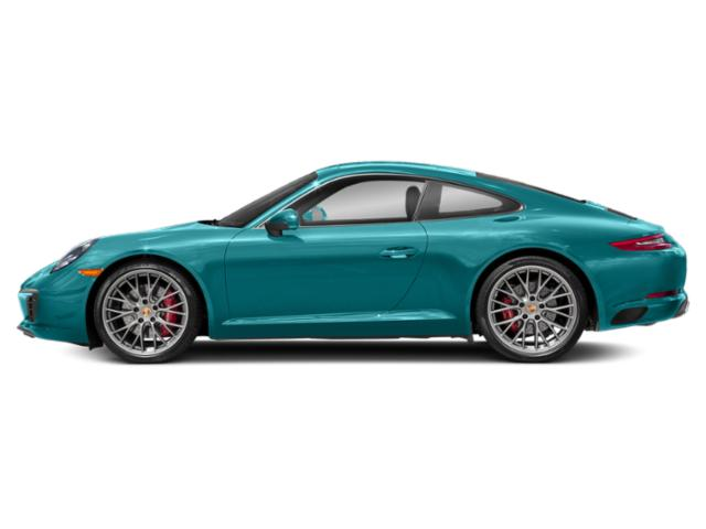 Miami Blue 2018 Porsche 911 Pictures 911 Coupe 2D S H6 Turbo photos side view