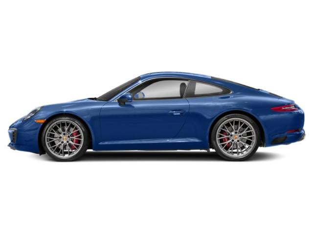 Sapphire Blue Metallic 2018 Porsche 911 Pictures 911 Coupe 2D S H6 Turbo photos side view