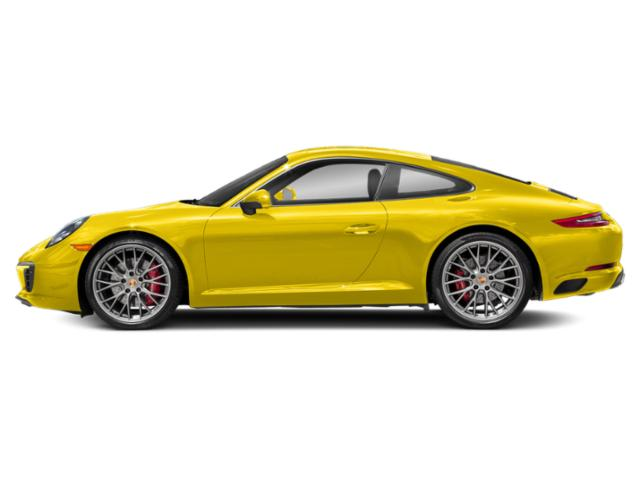 Racing Yellow 2018 Porsche 911 Pictures 911 Coupe 2D S H6 Turbo photos side view