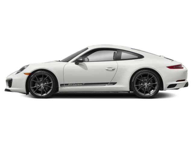 White 2018 Porsche 911 Pictures 911 Carrera T Coupe photos side view