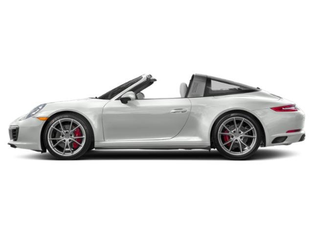 White 2018 Porsche 911 Pictures 911 Targa 4 photos side view