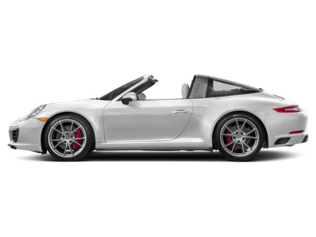 Carrara White Metallic 2018 Porsche 911 Pictures 911 Targa 4 photos side view