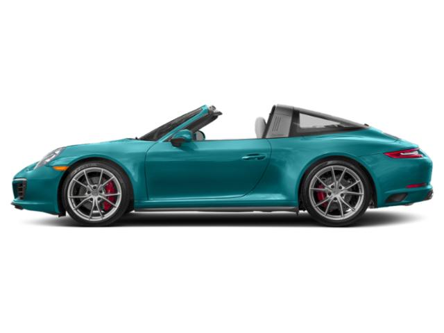 Miami Blue 2018 Porsche 911 Pictures 911 Targa 4 photos side view