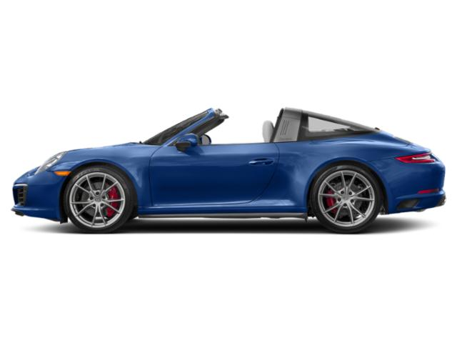 Sapphire Blue Metallic 2018 Porsche 911 Pictures 911 Targa 4 photos side view