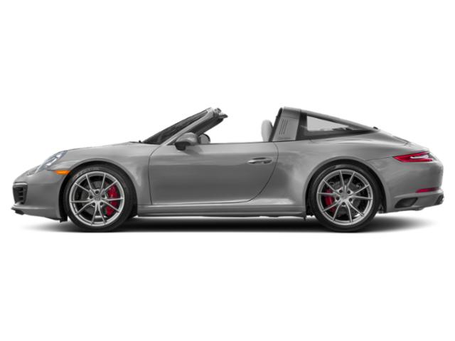 Rhodium Silver Metallic 2018 Porsche 911 Pictures 911 Targa 4 photos side view