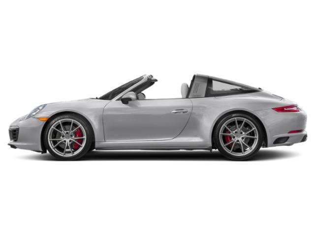GT Silver Metallic 2018 Porsche 911 Pictures 911 Targa 4 photos side view