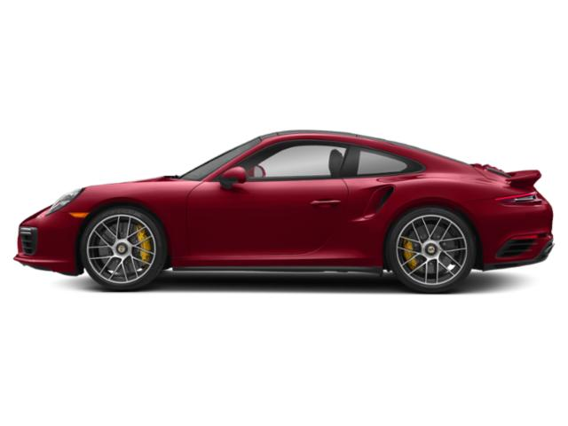 Carmine Red 2018 Porsche 911 Pictures 911 Coupe 2D Turbo S AWD H6 photos side view