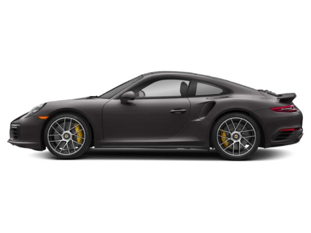 Agate Grey Metallic 2018 Porsche 911 Pictures 911 Coupe 2D Turbo S AWD H6 photos side view