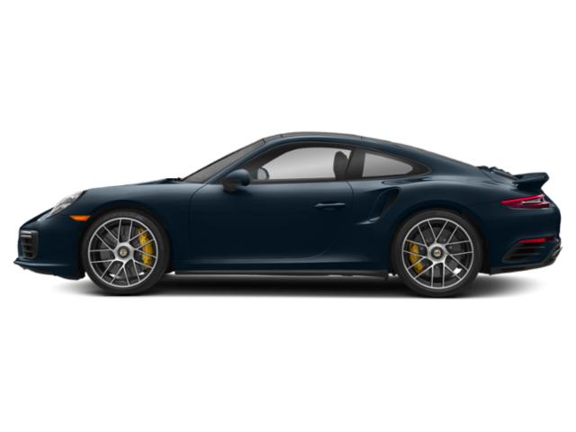 Night Blue Metallic 2018 Porsche 911 Pictures 911 Coupe 2D Turbo S AWD H6 photos side view