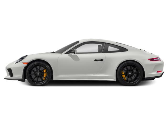 White 2018 Porsche 911 Pictures 911 GT3 Coupe photos side view