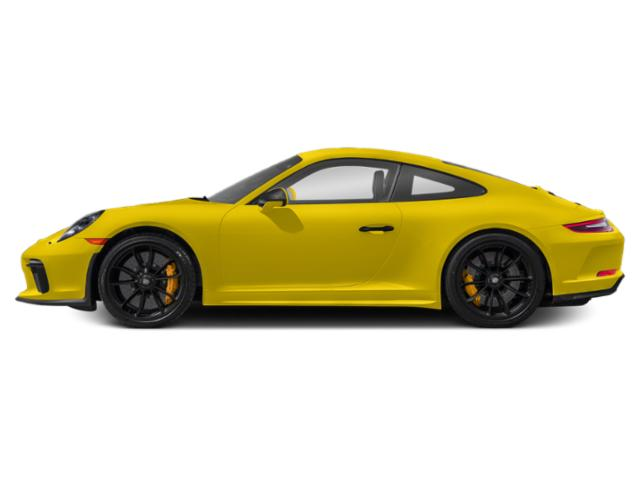 Racing Yellow 2018 Porsche 911 Pictures 911 GT3 Coupe photos side view