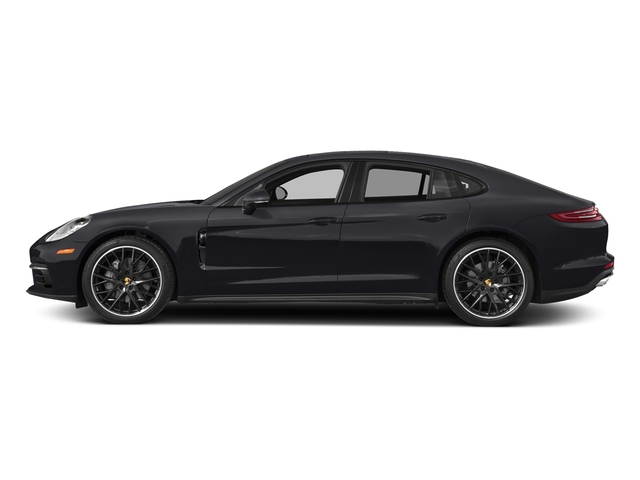 Jet Black Metallic 2018 Porsche Panamera Pictures Panamera 4S Executive AWD photos side view