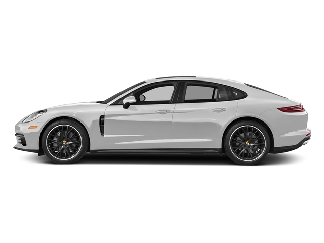 Carrara White Metallic 2018 Porsche Panamera Pictures Panamera 4S Executive AWD photos side view
