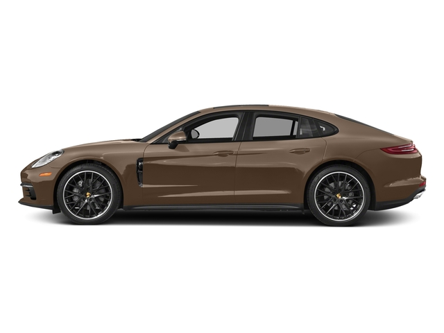 Ristretto Brown Metallic 2018 Porsche Panamera Pictures Panamera 4S Executive AWD photos side view
