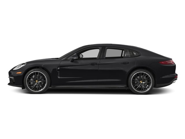Black 2018 Porsche Panamera Pictures Panamera 4S Executive AWD photos side view