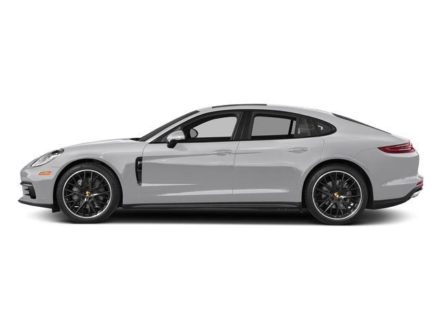 GT Silver Metallic 2018 Porsche Panamera Pictures Panamera 4S Executive AWD photos side view