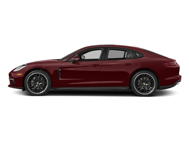 Burgundy Red Metallic 2018 Porsche Panamera Pictures Panamera 4S Executive AWD photos side view