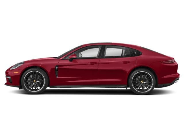 Carmine Red 2018 Porsche Panamera Pictures Panamera 4 AWD photos side view