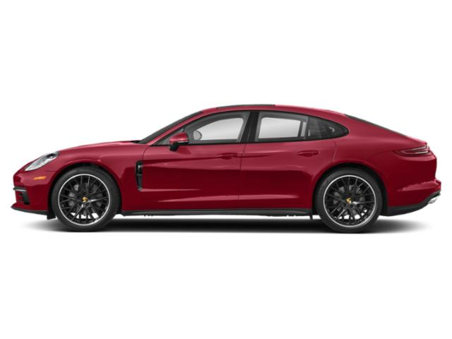 Carmine Red 2018 Porsche Panamera Pictures Panamera RWD photos side view