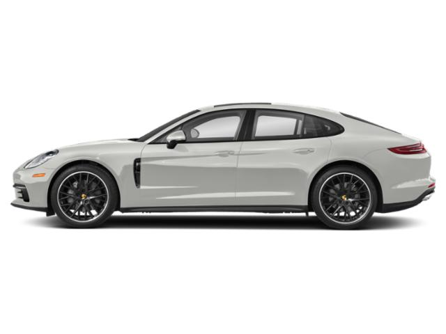 White 2018 Porsche Panamera Pictures Panamera RWD photos side view