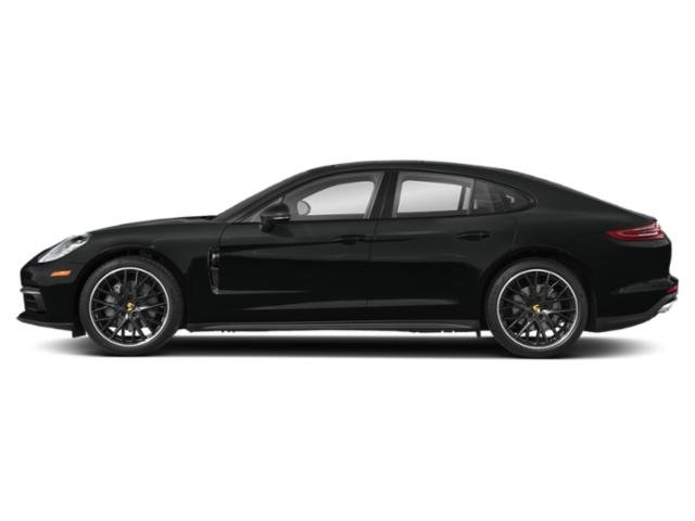 Jet Black Metallic 2018 Porsche Panamera Pictures Panamera RWD photos side view