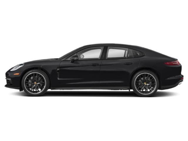 Black 2018 Porsche Panamera Pictures Panamera RWD photos side view