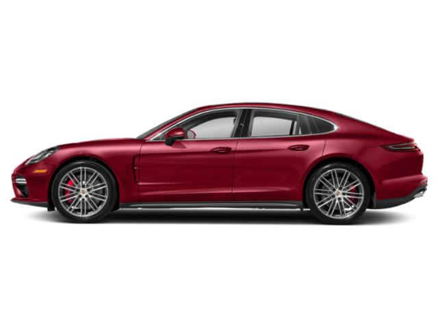 Carmine Red 2018 Porsche Panamera Pictures Panamera Turbo AWD photos side view