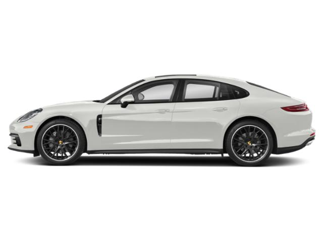 White 2018 Porsche Panamera Pictures Panamera Hatchback 4D 4S AWD photos side view