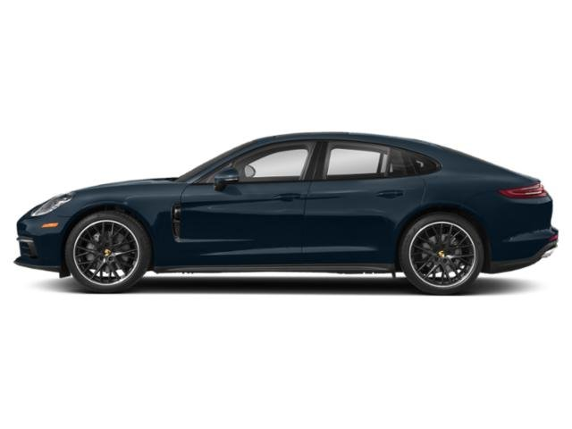 Night Blue Metallic 2018 Porsche Panamera Pictures Panamera Hatchback 4D 4S AWD photos side view
