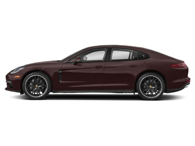 Amethyst Metallic 2018 Porsche Panamera Pictures Panamera Hatchback 4D 4S AWD photos side view