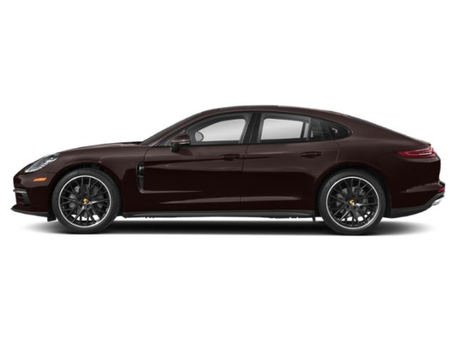 Mahogany Metallic 2018 Porsche Panamera Pictures Panamera 4 AWD photos side view