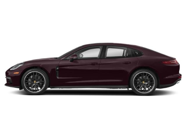 Burgundy Red Metallic 2018 Porsche Panamera Pictures Panamera Hatchback 4D 4S AWD photos side view