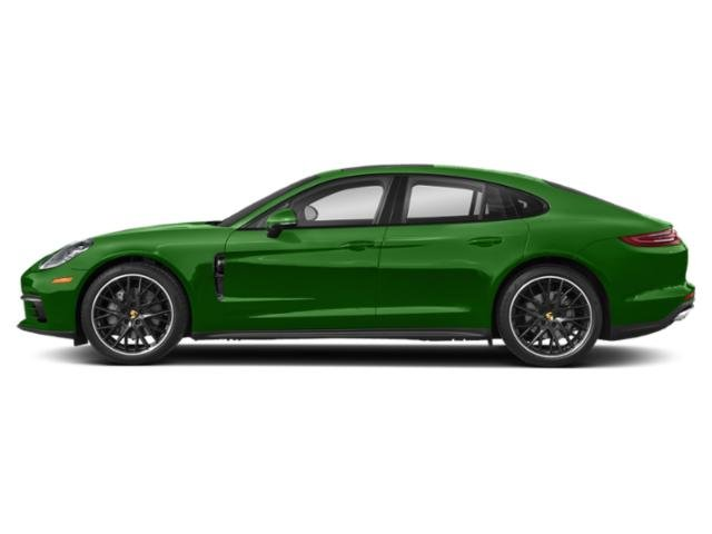 Mamba Green Metallic 2018 Porsche Panamera Pictures Panamera Hatchback 4D 4S AWD photos side view